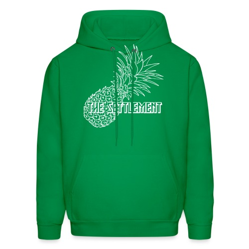Pineapple with Band Name | The Settlement - Men's Hoodie