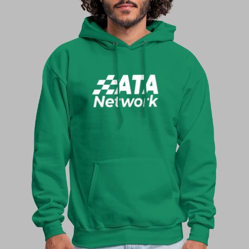 ATA Network Stacked Logo - Men's Hoodie