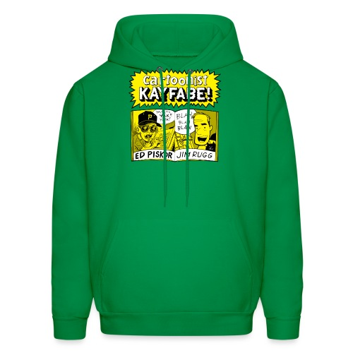 Cartoonist Kayfabe with Jim and Ed - Men's Hoodie