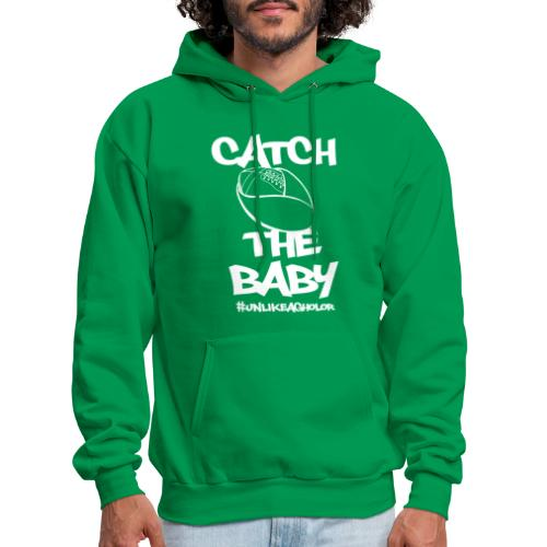 Catch The Baby #UnlikeAgholor White - Men's Hoodie
