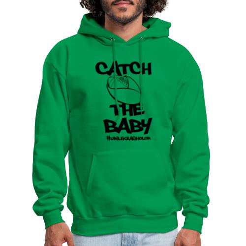 Catch the Baby #UnlkeAgholor Black - Men's Hoodie