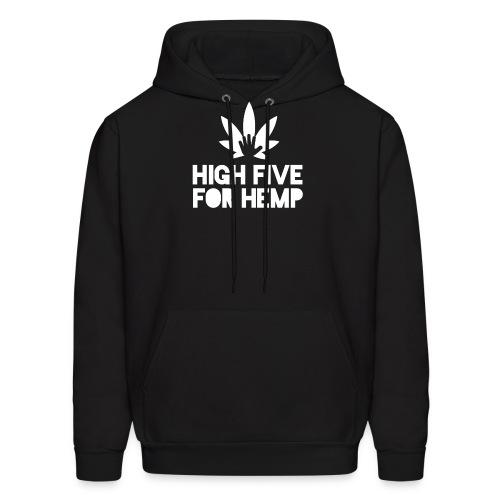 High Five for Hemp - Men's Hoodie