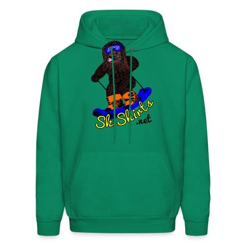 SkiShirts Sasquatch Logo - Men's Hoodie