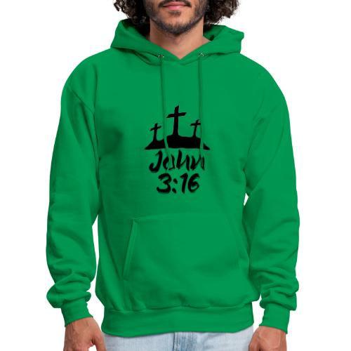 John 3:16 - Men's Hoodie