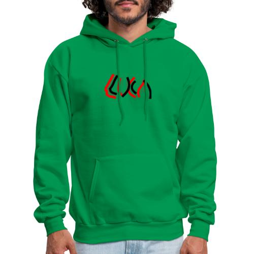 Contrast Luca Logo - Men's Hoodie