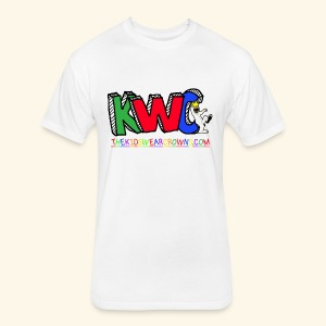 KWC TEE - Fitted Cotton/Poly T-Shirt by Next Level