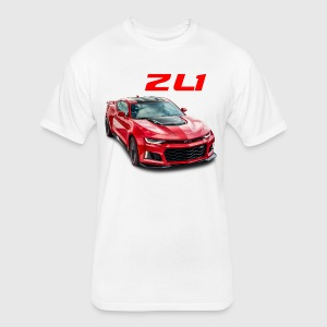 ZL1 camaro - Fitted Cotton/Poly T-Shirt by Next Level