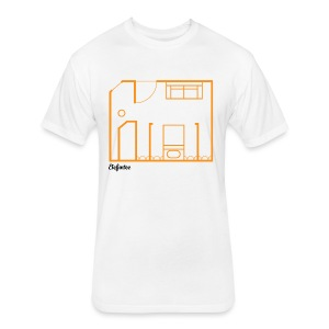 EFT d2 - Fitted Cotton/Poly T-Shirt by Next Level