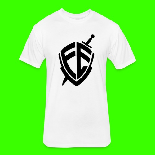 O Brasão da FE !! - Fitted Cotton/Poly T-Shirt by Next Level