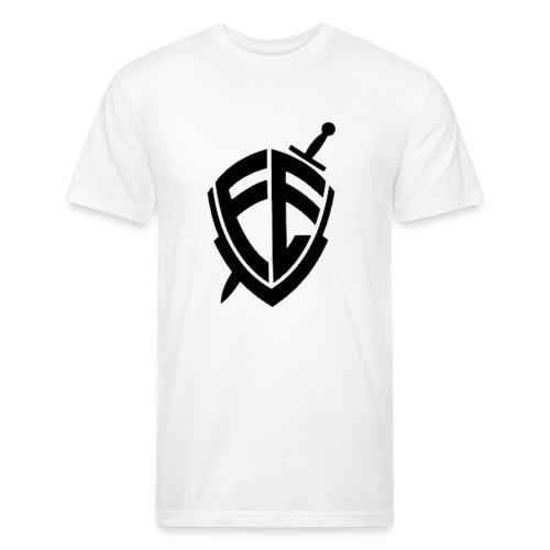 O Brasão da FE !! - Fitted Cotton/Poly T-Shirt by Next Level