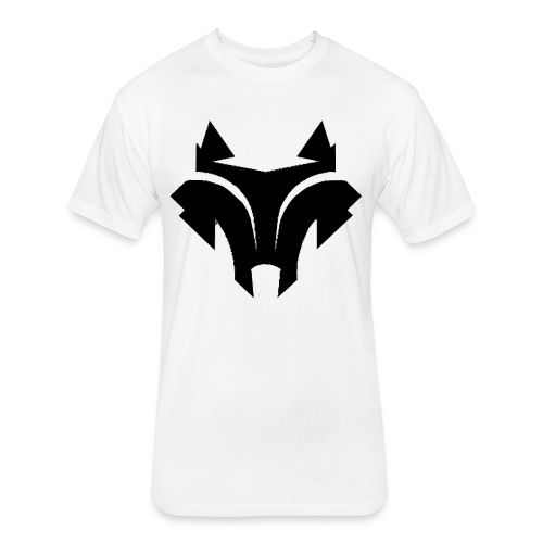 wolff - Fitted Cotton/Poly T-Shirt by Next Level