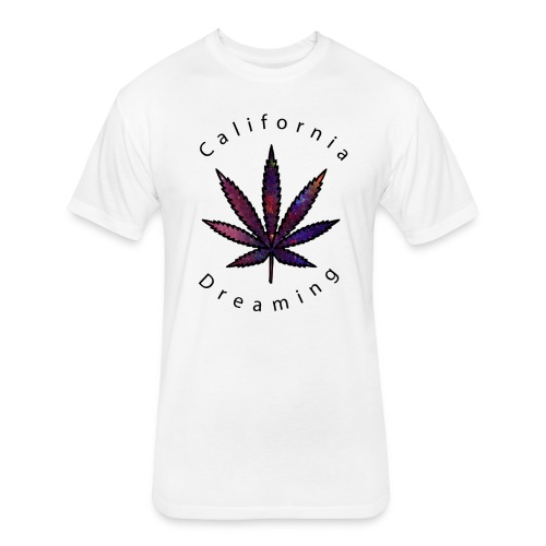cali dream - Fitted Cotton/Poly T-Shirt by Next Level