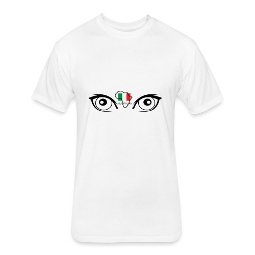 blatalian eyes - Fitted Cotton/Poly T-Shirt by Next Level