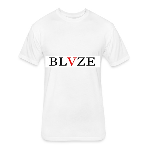 BLVZE - Fitted Cotton/Poly T-Shirt by Next Level