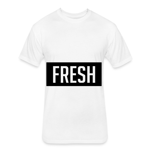 fresh - Fitted Cotton/Poly T-Shirt by Next Level