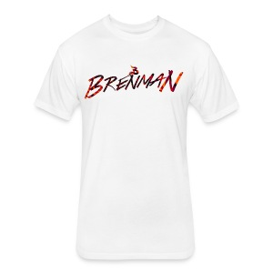 Brenman ''Abstract Logo'' T-Shirt - Fitted Cotton/Poly T-Shirt by Next Level