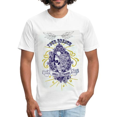 rayan 2 - Fitted Cotton/Poly T-Shirt by Next Level