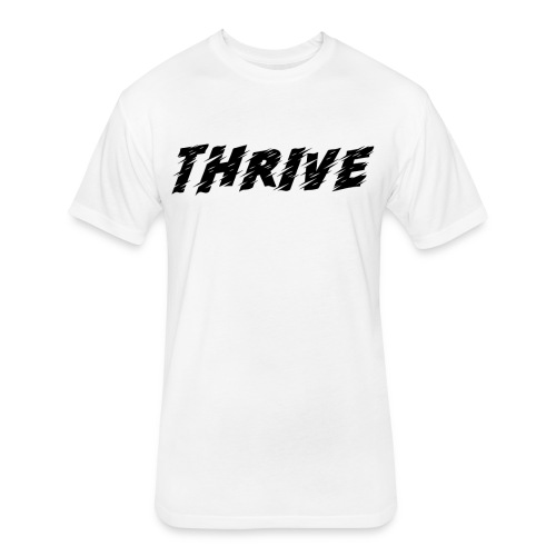 Thrive - Fitted Cotton/Poly T-Shirt by Next Level
