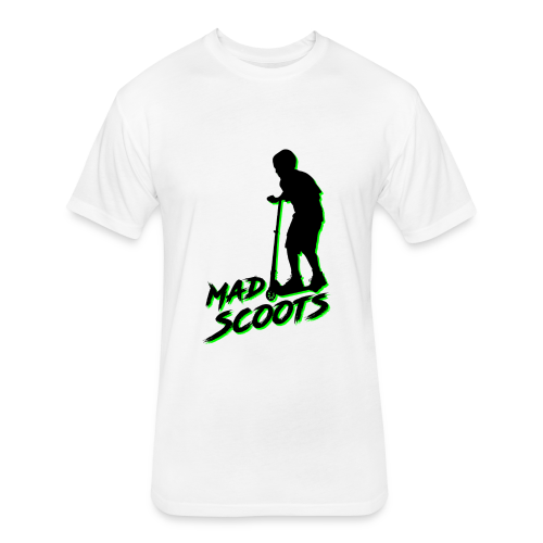 Mad Scoots - Fitted Cotton/Poly T-Shirt by Next Level
