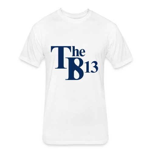 TBisthe813 BLUE - Fitted Cotton/Poly T-Shirt by Next Level