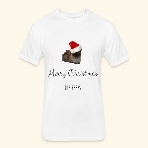 Peeps Christmas - Fitted Cotton/Poly T-Shirt by Next Level