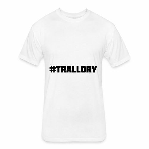 Trallory - Fitted Cotton/Poly T-Shirt by Next Level