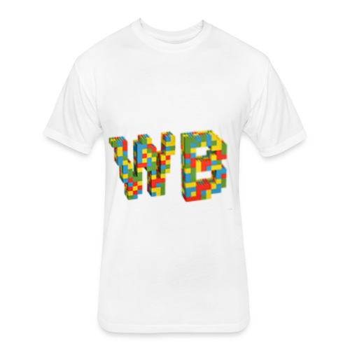 Widdle B - Fitted Cotton/Poly T-Shirt by Next Level