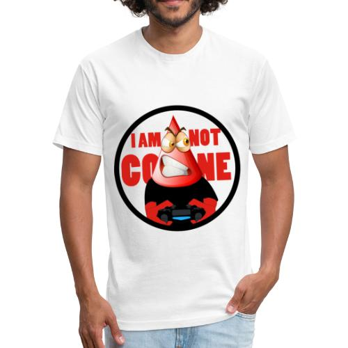 I am not a cone - Fitted Cotton/Poly T-Shirt by Next Level