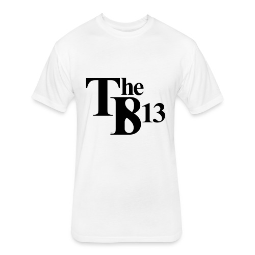 TBisthe813 BLACK - Fitted Cotton/Poly T-Shirt by Next Level
