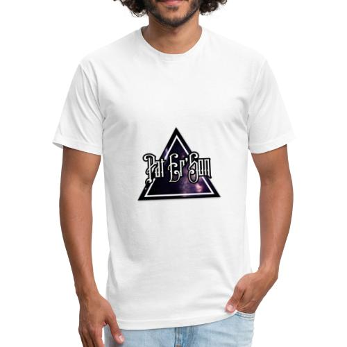 Pat Er'Son logo - Fitted Cotton/Poly T-Shirt by Next Level