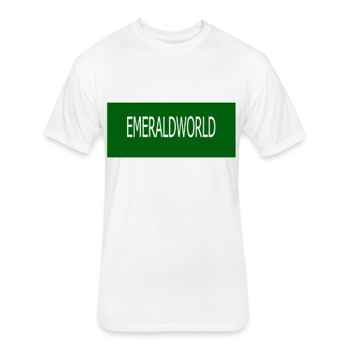 EMERALDWORLD MERCH - Fitted Cotton/Poly T-Shirt by Next Level