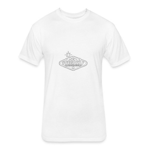 VegasAF Original - Fitted Cotton/Poly T-Shirt by Next Level