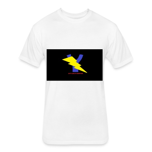 YVNG-STRIKE - Fitted Cotton/Poly T-Shirt by Next Level