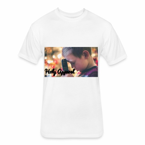 Holy apparel - Fitted Cotton/Poly T-Shirt by Next Level