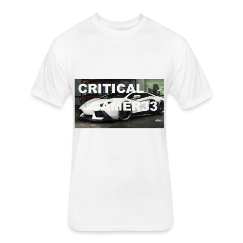CRITIMERCH EXCLUSIVE - Fitted Cotton/Poly T-Shirt by Next Level