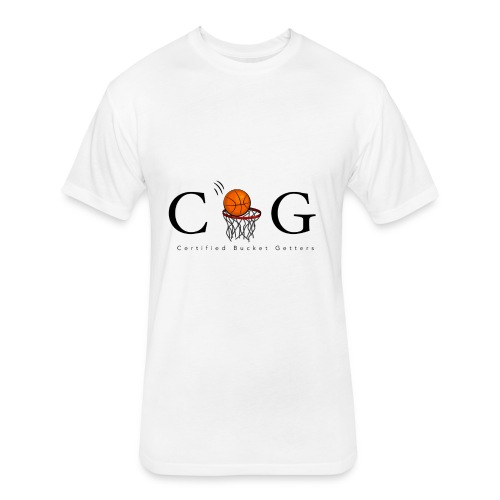 CBG Ballers clothing - Fitted Cotton/Poly T-Shirt by Next Level