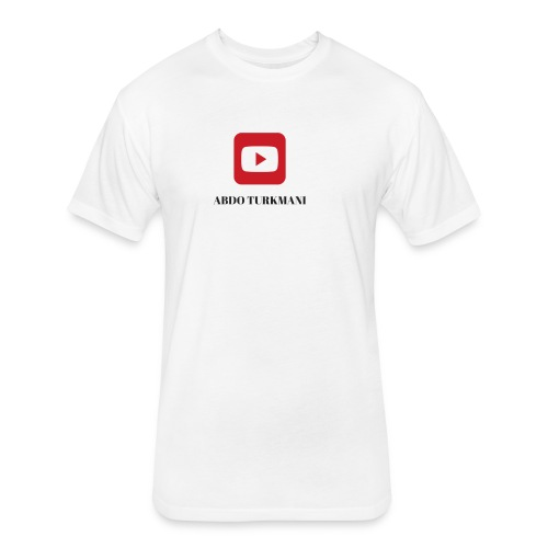 youtube merch - Fitted Cotton/Poly T-Shirt by Next Level