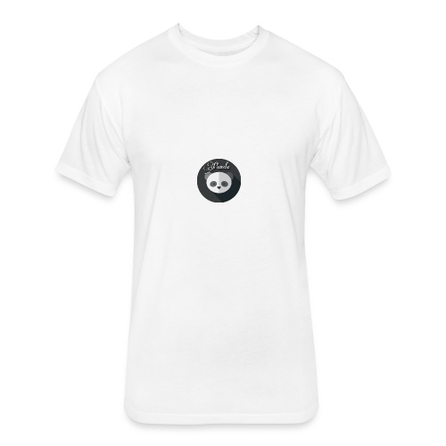 Pandman - Fitted Cotton/Poly T-Shirt by Next Level