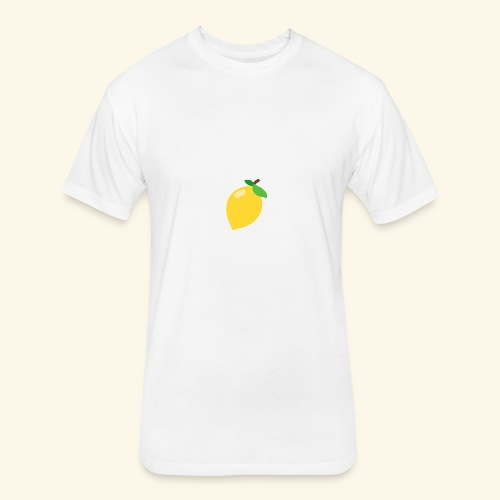 lemon - Fitted Cotton/Poly T-Shirt by Next Level