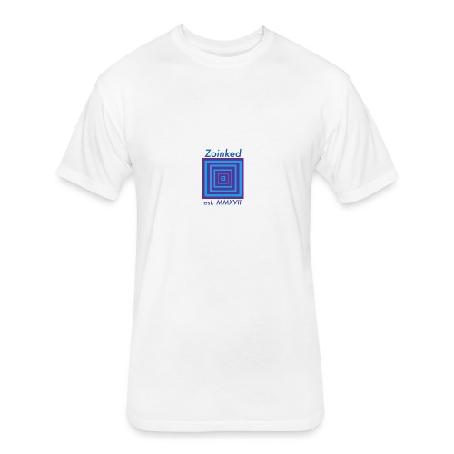 Zoinked v2 - Fitted Cotton/Poly T-Shirt by Next Level