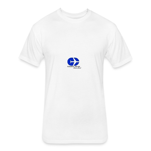 CSAC Logo - Fitted Cotton/Poly T-Shirt by Next Level