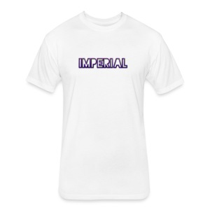 Purple Imperial T-Shirt - Fitted Cotton/Poly T-Shirt by Next Level