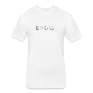 Plain Imperial Logo - Fitted Cotton/Poly T-Shirt by Next Level