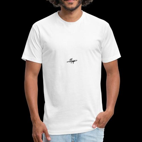 Mikey manfs - Fitted Cotton/Poly T-Shirt by Next Level