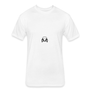 vw-beetle-icon-1573-01 - Fitted Cotton/Poly T-Shirt by Next Level