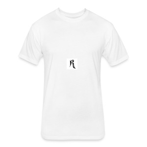 Rielle - Fitted Cotton/Poly T-Shirt by Next Level