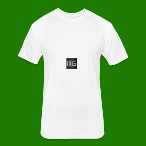MrGreenGaming Logo Phone Cases - Fitted Cotton/Poly T-Shirt by Next Level