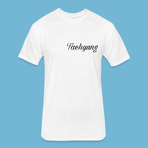 Taehyung T-Shirt - Fitted Cotton/Poly T-Shirt by Next Level