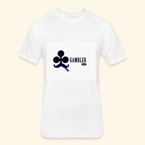 Gambler - Fitted Cotton/Poly T-Shirt by Next Level