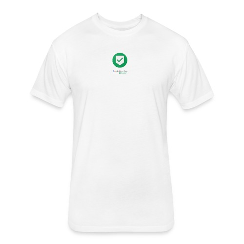 Google Street View Trusted - Fitted Cotton/Poly T-Shirt by Next Level